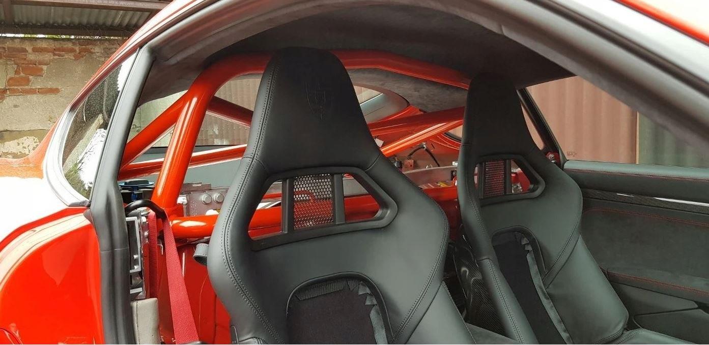 Rollbar Porsche Cayman 718 S Turbo - GRUBYGARAGE - Sklep Tuningowy